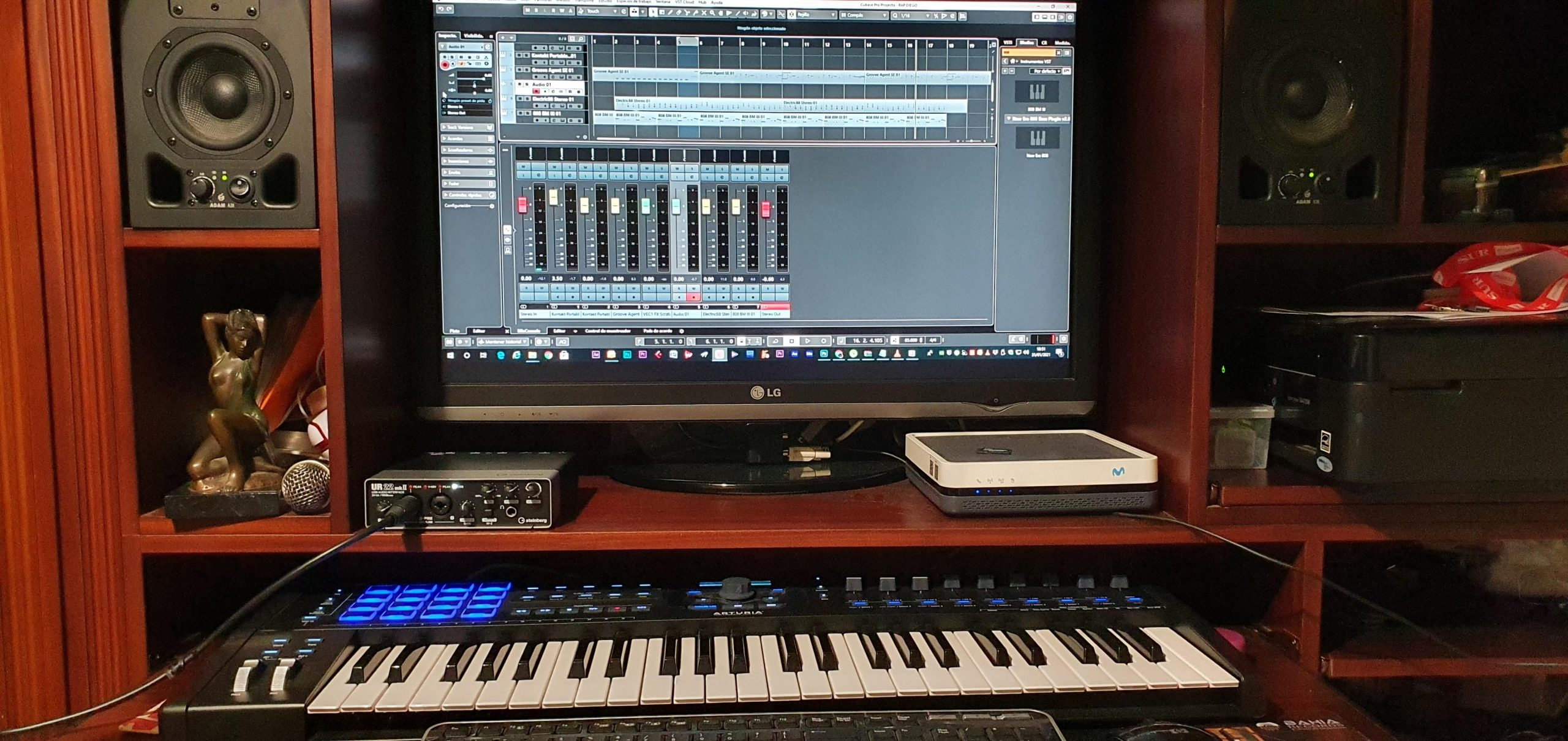 Home Studio vs Estudio Profesional